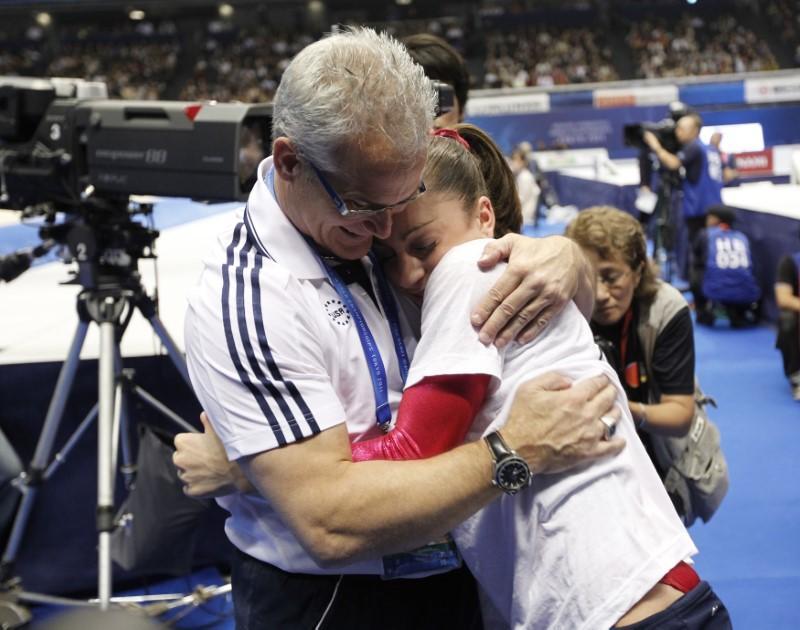 former usa gymnastics coach john geddert photo reuters