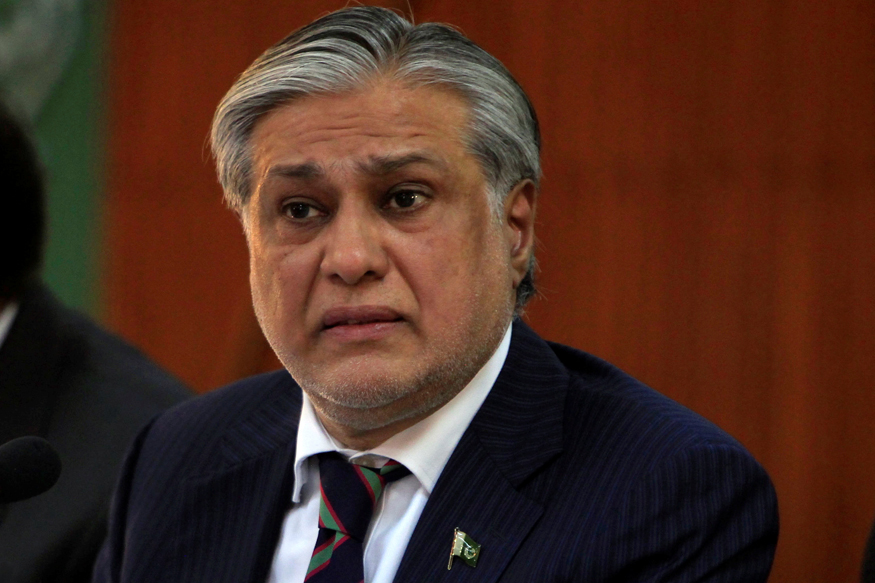 former finance minister ishaq dar photo reuters