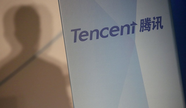 tencent jumped 4 51 per cent to hk 324 6 contributing the most to gains on the hang seng index photo reuters