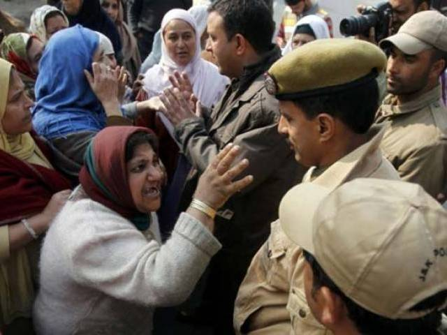 zaffar akbar bhat senior leader of the all parties hurriyat conference aphc said that the kashmiris are facing atrocities committed by india 039 s state sponsored terrorism photo reuters file