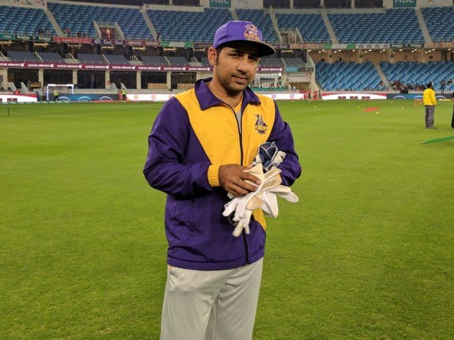 moin has said sarfraz will only get better with time and therefore should be backed by both club and country photo courtesy psl