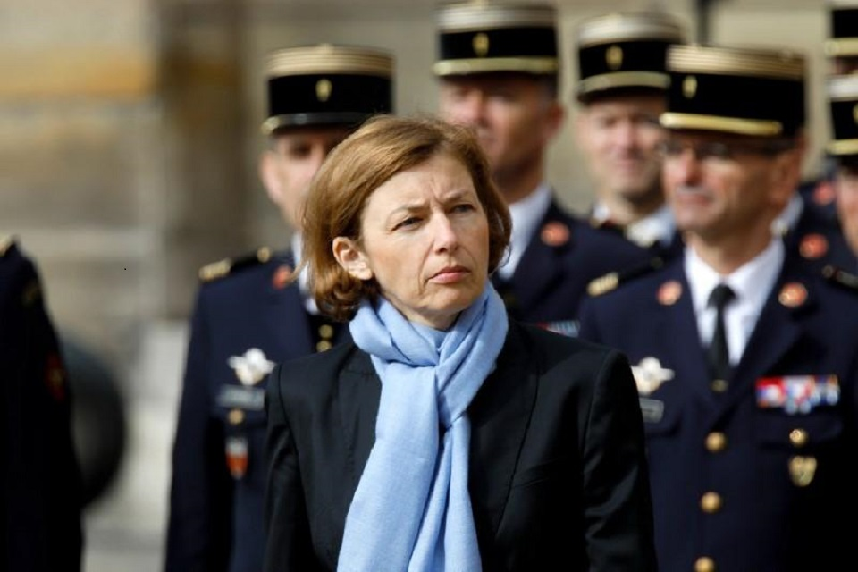 french defense minister florence parly photo reuters file