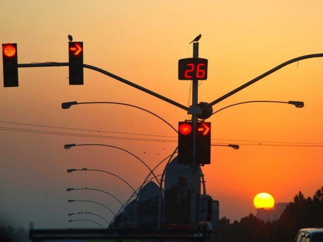 dysfunctional traffic lights need repairing and pose a risk to public safety photo app file