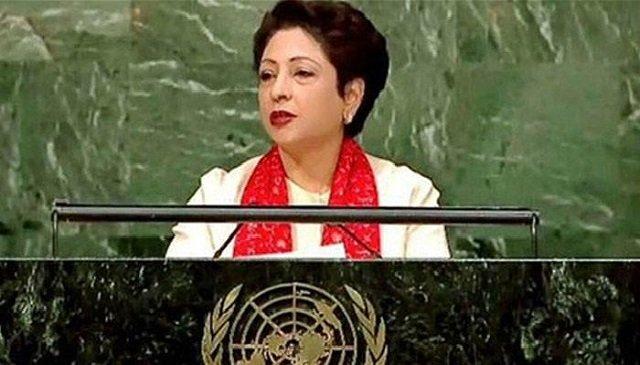 pakistan 039 s permanent representative to un maleeha lodhi photo file photo
