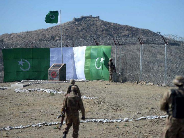 border fencing will be in the mutual interests of both countries photo afp