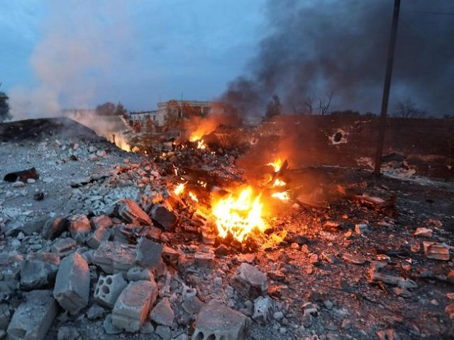 the burning remains of the downed fighter jet picture photo afp
