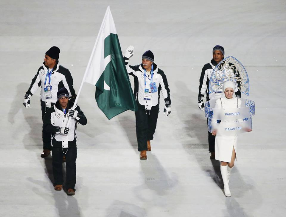 winter olympics pakistan puts faith in skiers
