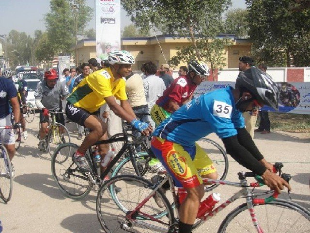 qayyum sports complex in k p to promote cycling in the region photo courtesy sports and youth affair department sindh