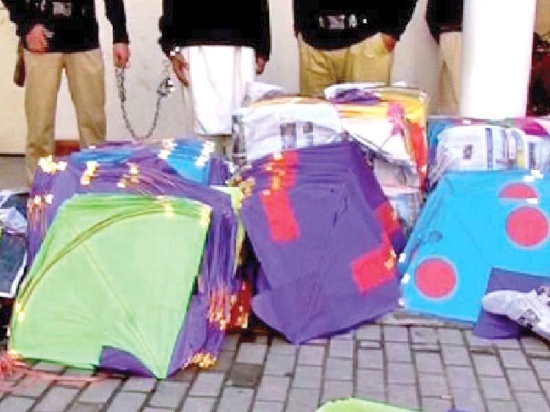 crackdown on kite flying