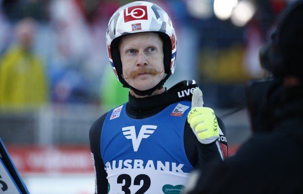 robert johansson 039 s was warmed by the rabid attention on his handlebar moustache photo afp