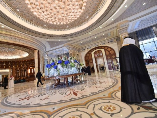 inside the ritz carlton hotel in riyadh where many of the corruption suspects were detained photo afp file