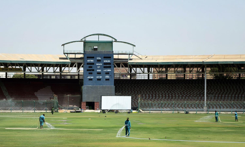 national stadium karachi photo afp