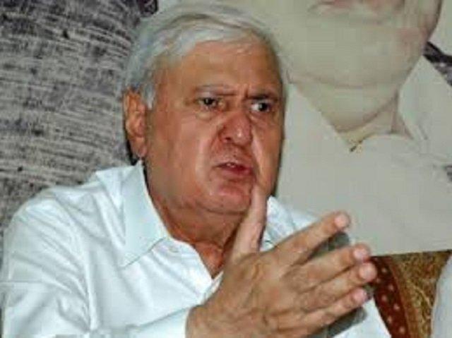 qwp chairman aftab ahmad sherpao photo file