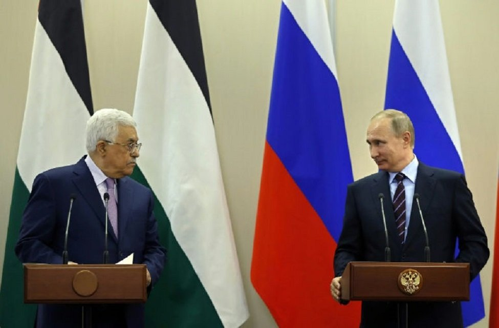palestinian leader seeks russia s backing over jerusalem