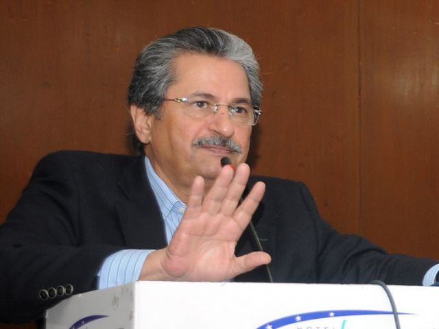 shafqat mahmood said pti was gathering data of all police encounters in punjab photo file