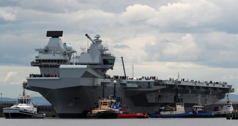 british warship photo reuters