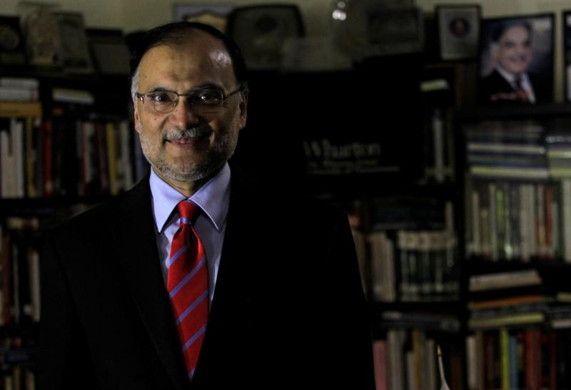 federal minister for interior ahsan iqbal photo reuters