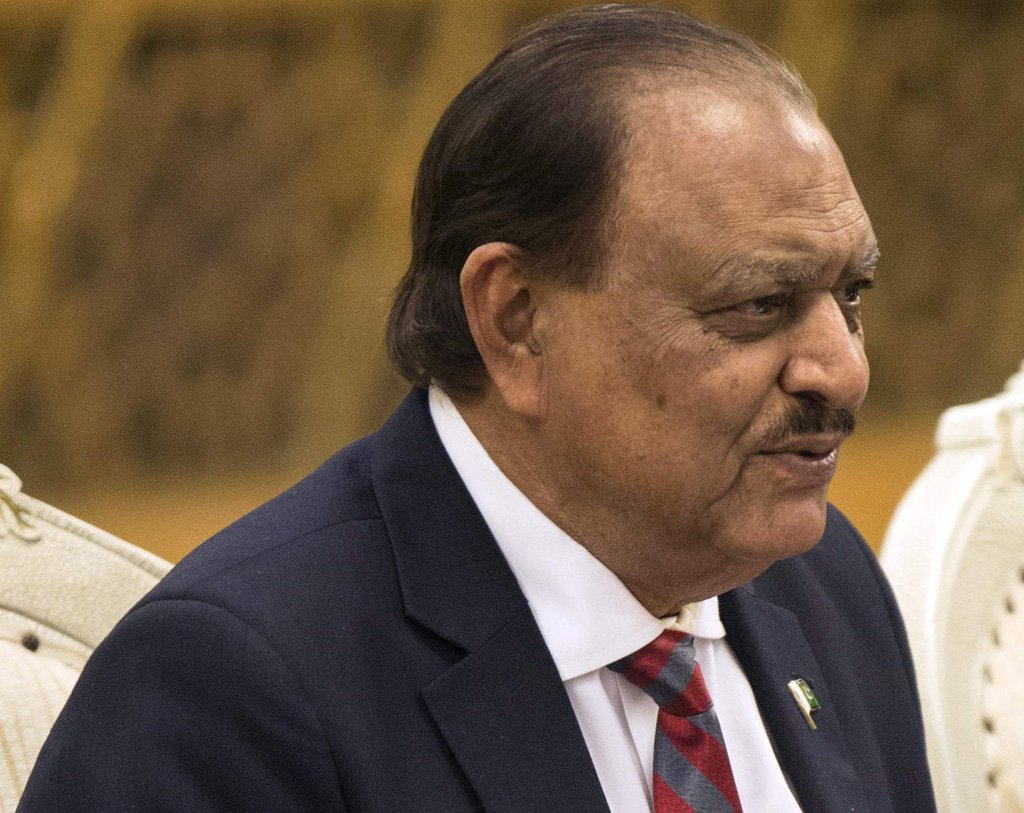President Mamnoon Hussain said Pakistan has been successful in overcoming many complex issues PHOTO: AFP/FILE