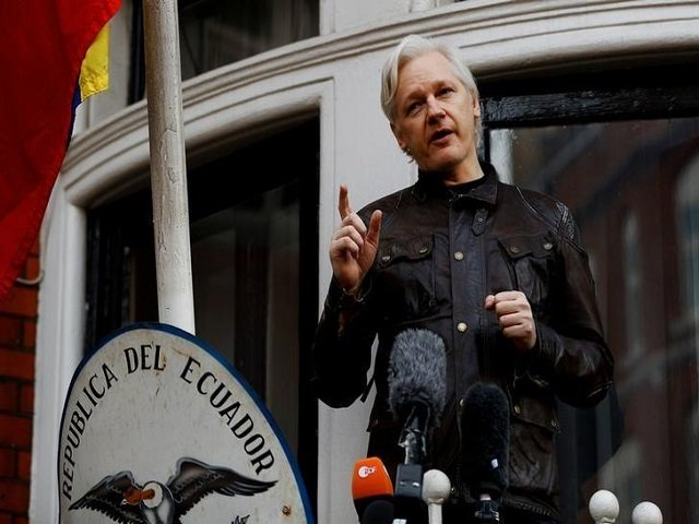 wikileaks founder julian assange is seen on the balcony of the ecuadorian embassy in london britain may 19 2017 photo reuters file photo