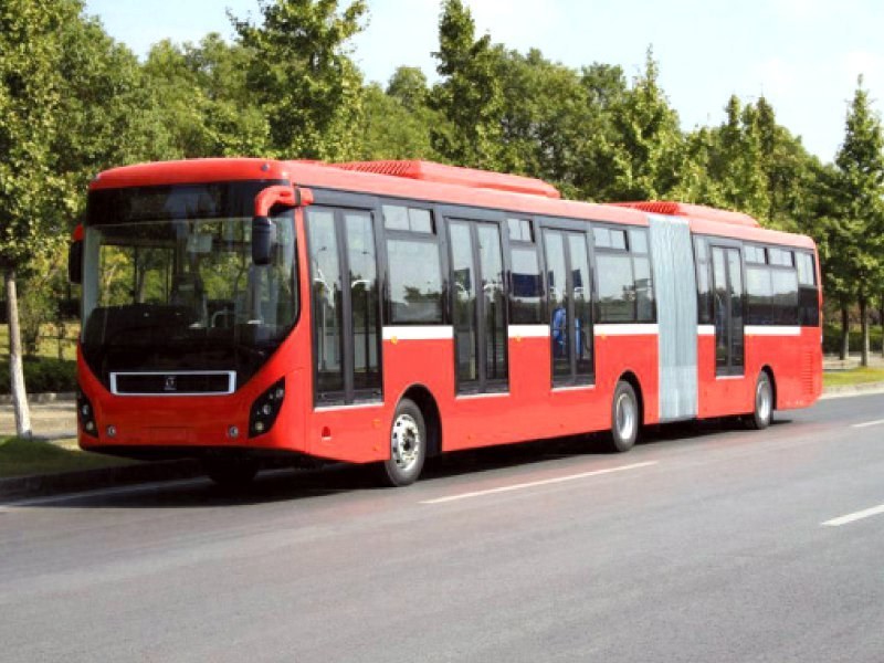 provincial government has decided to press the accelerator on its marquee project a metro bus project in peshawar photo file