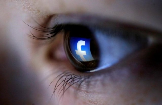 a picture illustration shows a facebook logo reflected in a person 039 s eye in zenica march 13 2015 photo reuters