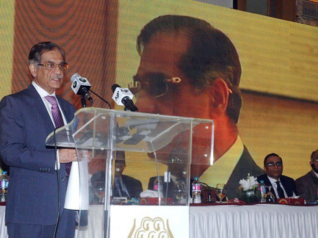 cjp mian saqib nisar photo express