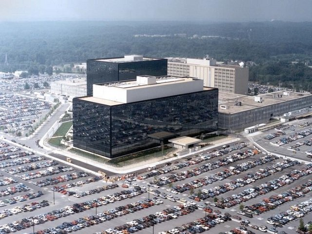 an undated aerial handout photo shows the national security agency nsa headquarters building in fort meade maryland photo reuters