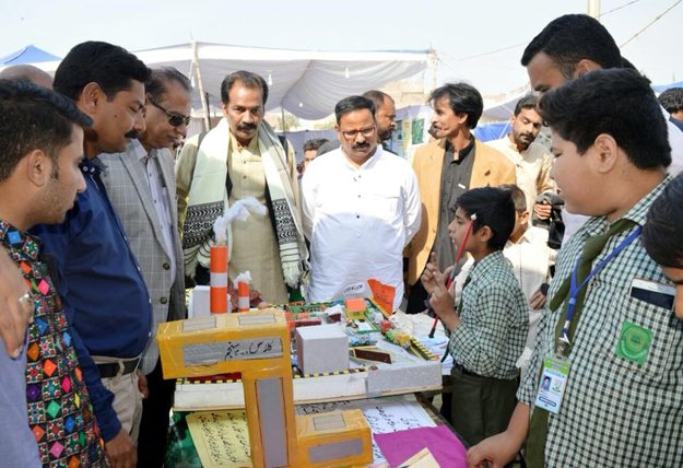students come up with creative projects at two day science exhibition