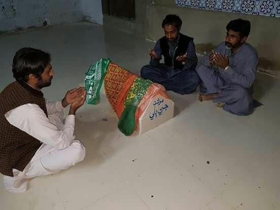 murshid ji billi sindh is now home to shrine of pir gaji shah s cat