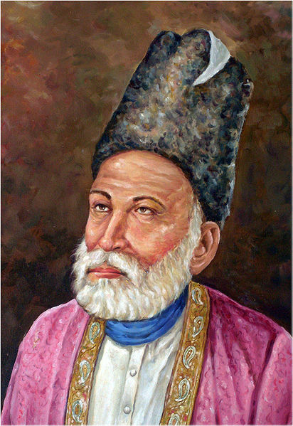today is the 149th death anniversary of legendary poet mirza ghalib