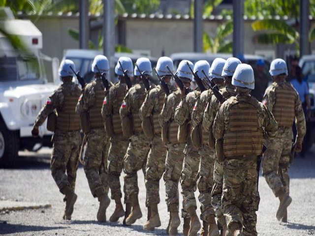 chile 039 s army part of the united nations stabilization mission in haiti minustah march in cap haitien jan 24 2015 photo file