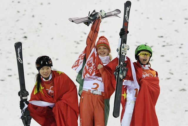 huskova wins gold for belarus