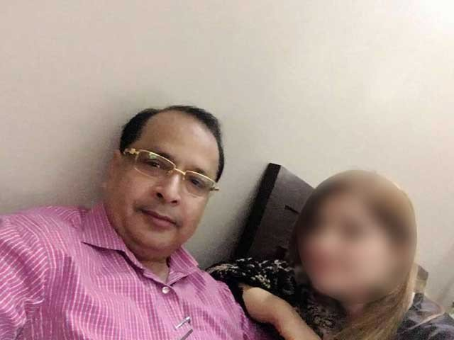 salman mujahid baloch faces sexual assault blackmailing charges photo express pk