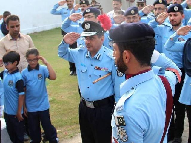 sports to boost morale of police force photo inp file