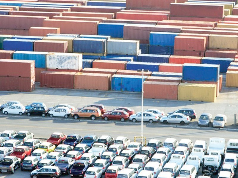 the previous government s age reduction on used car imports was one of the reasons for the massive decline photo file