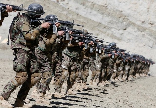 government forces stormed taliban hideouts and killed 36 militants photo reuters