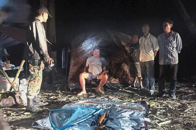 thai officials smell clue with faeces found in tycoon poaching case