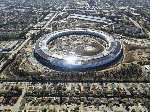 apple employees keep running into glass walls at new campus