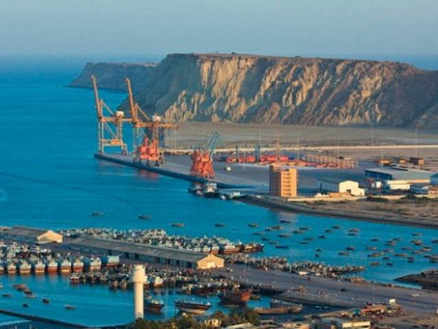CPEC and Gwadar Port will bring revolutionary change to the country PHOTO:REUTERS