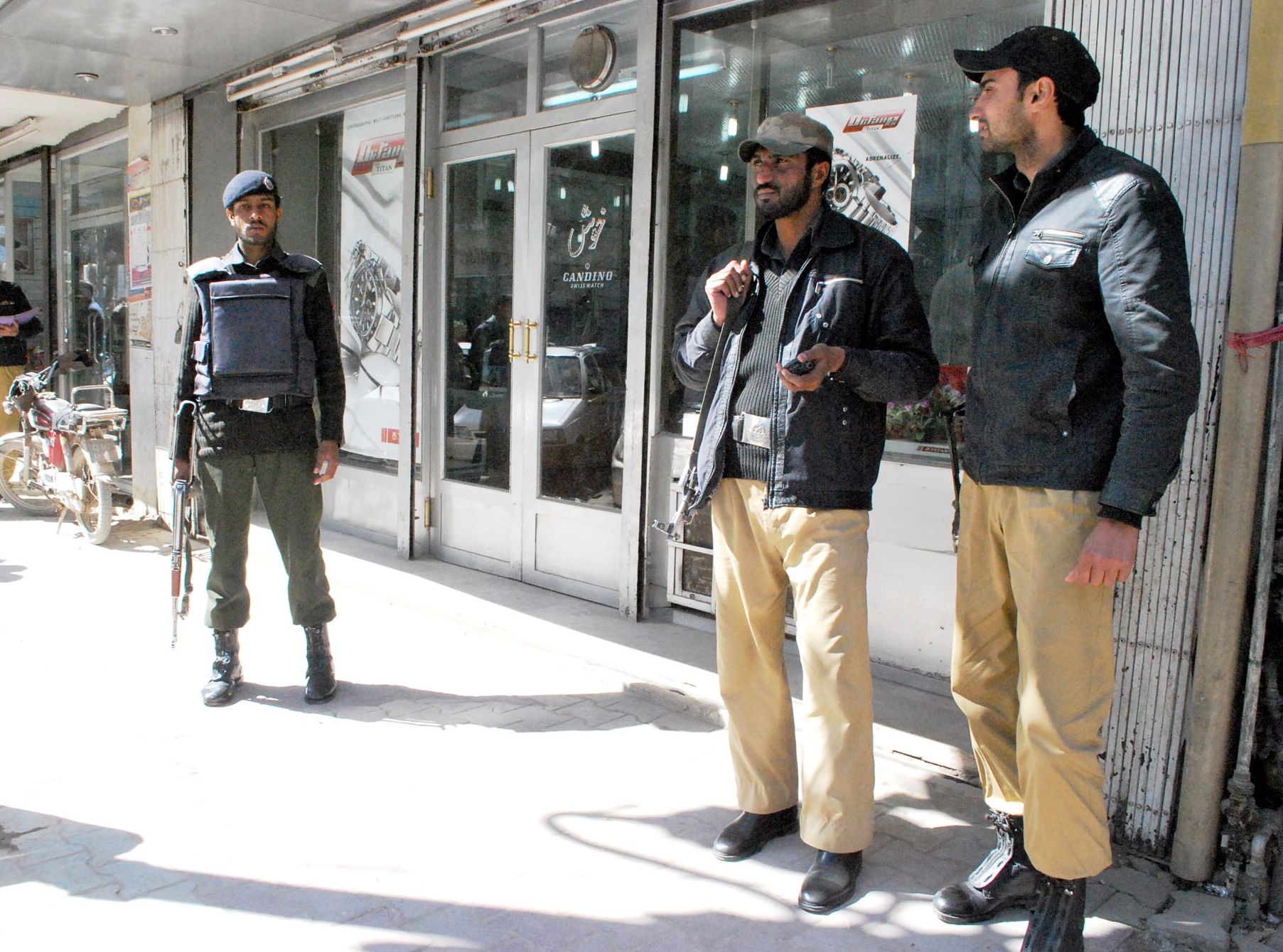 quetta police on patrol photo express file