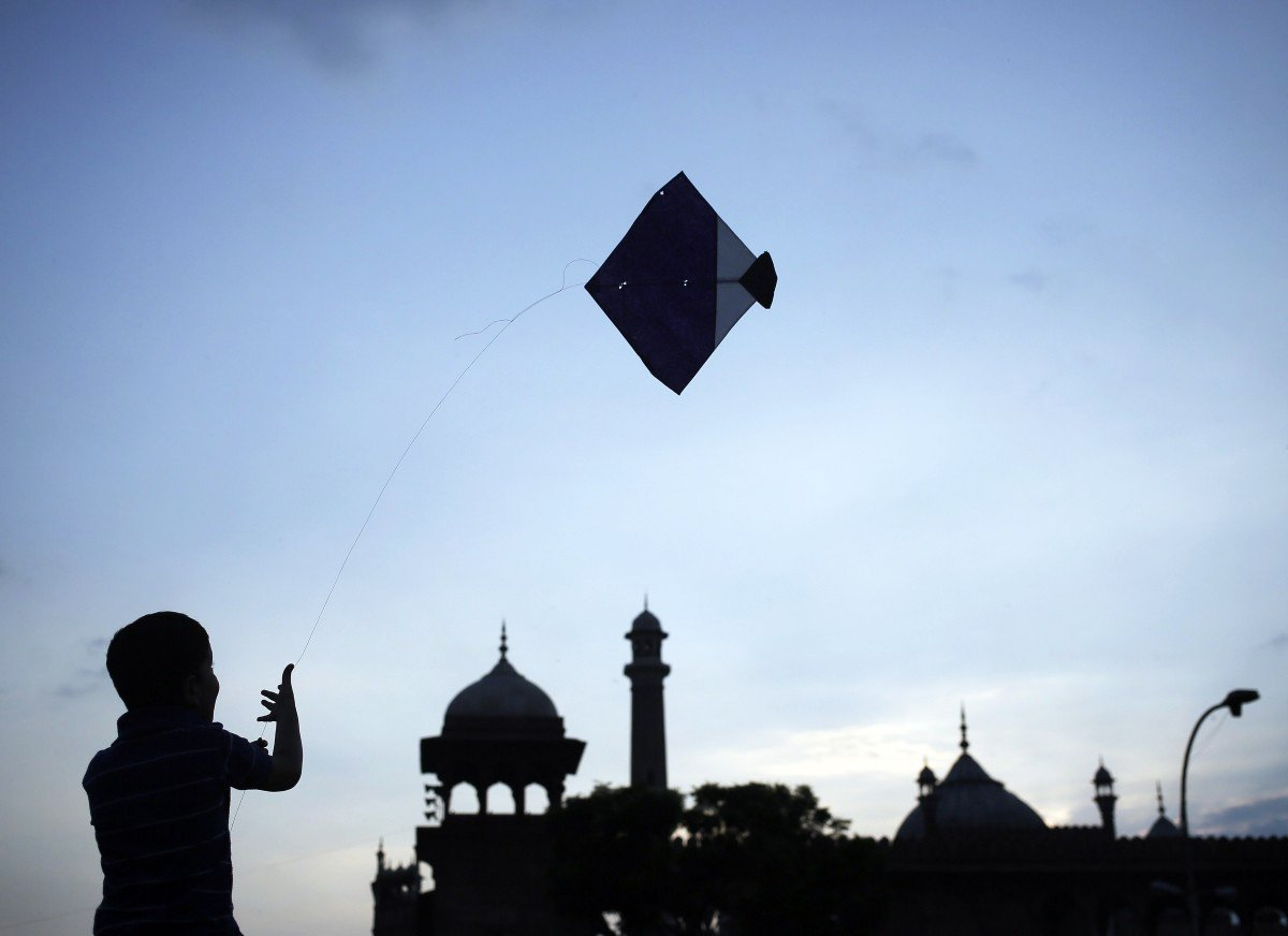 kite flying photo reuters