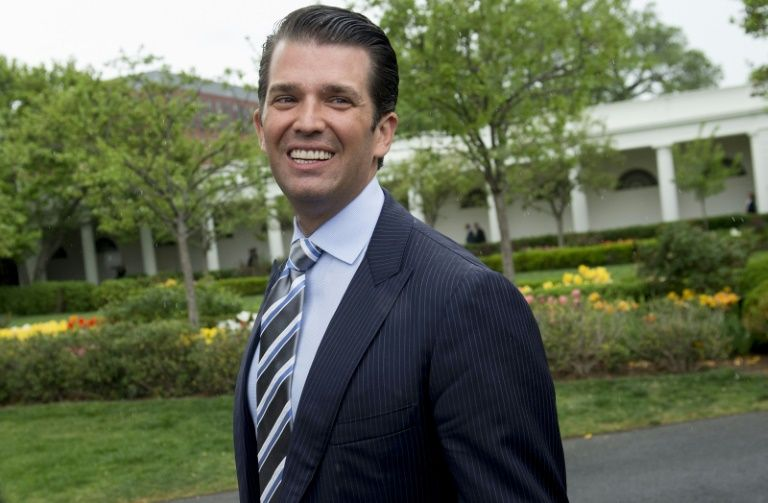 donald trump jr will wine and dine indian property investors photo afp