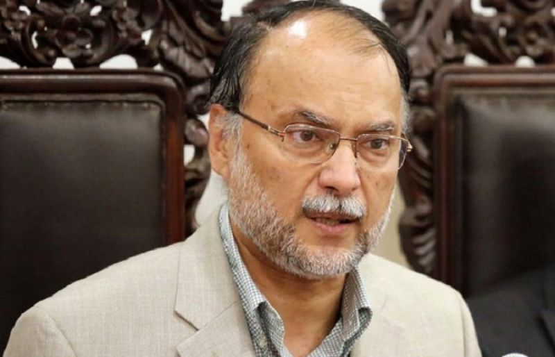 interior minister ahsan iqbal says the whole world is witness to our struggle for the eradication of terrorism photo file