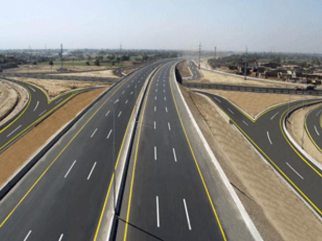 rawalpindi commissioner asks nespak to finalise design of 38 kilometres long ring road from rawat to thalian on the motorway photo express file
