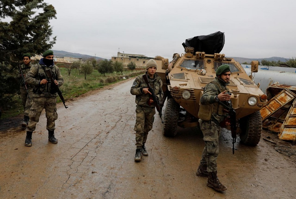 turkey s syria offensive enters 2nd month with slow progress
