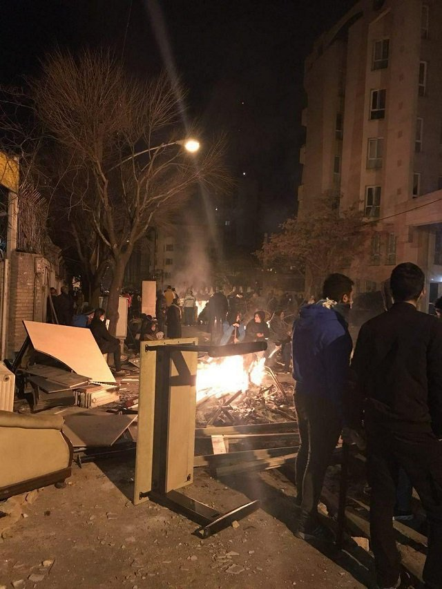5 officers killed in overnight sufi protests in iran