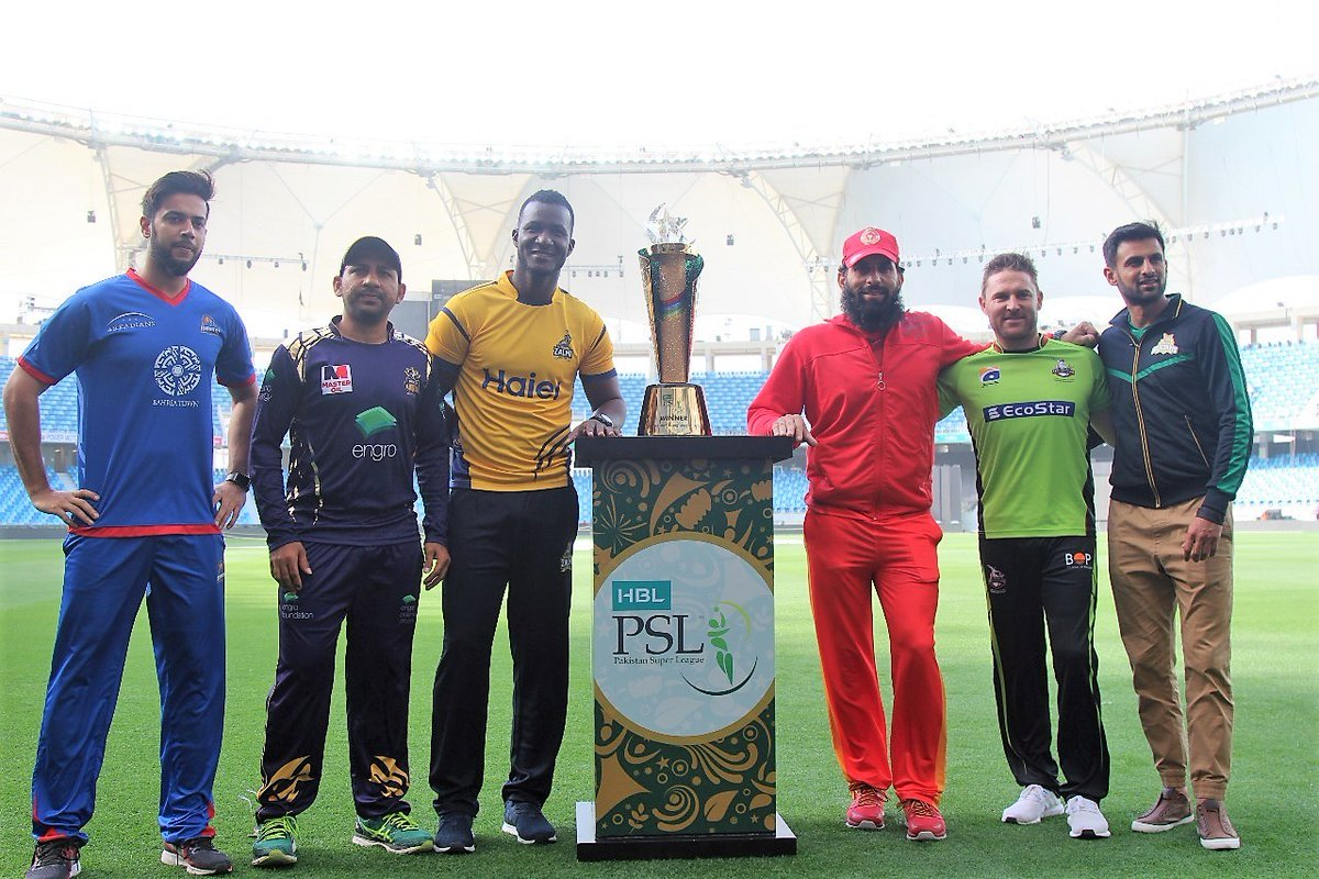 psl3 trophy unveiled in dubai