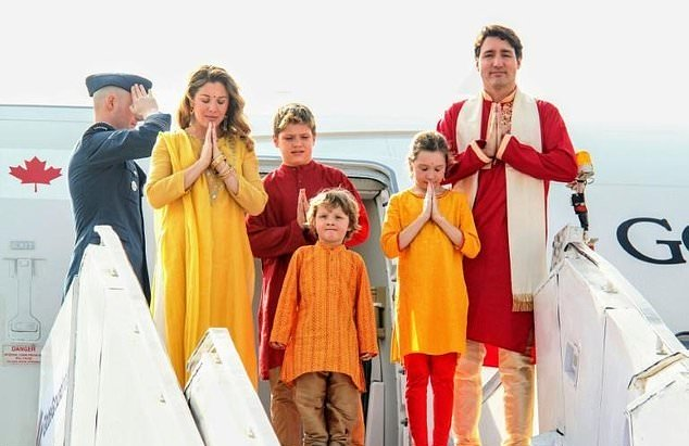 trudeau tours india amid quips pm being given cold shoulder
