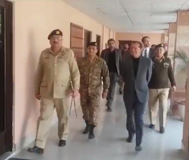 german ambassador martin kobler visiting cmh silakot on february 20 2018 photo ispr