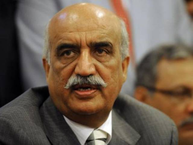 khursheed shah irked when secretary finance skips pac moot to attend meeting with premier photo file